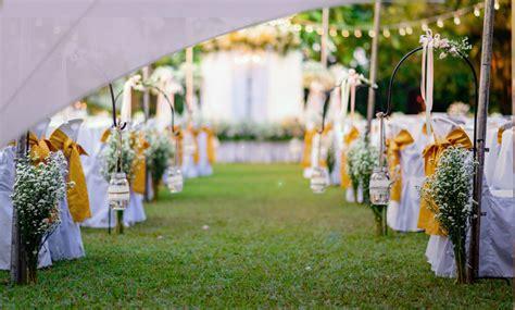 une voile dombrage pour  mariage en plein air easy sail