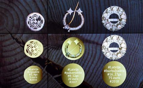 Skices: zelta kolekcijas monētu sērija