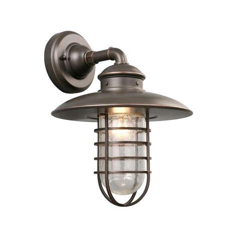 hton bay oil rubbed bronze outdoor wall light hton bay 1 light oil rubbed bronze outdoor wall lantern