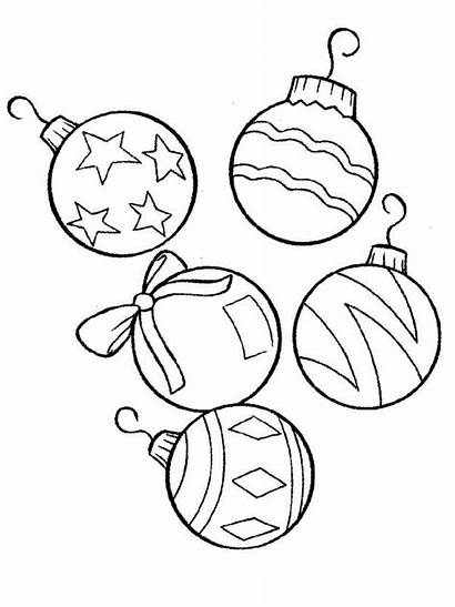 Coloring Printable Ornaments Snake Ornament Preschool Round