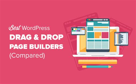 6 best drag and drop page builders compared 2019