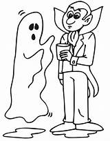 Ghost Coloring Dracula Halloween Pages Printable Sheets Popular Coloringpages Costumes Costume Talking Bestcoloringpagesforkids sketch template