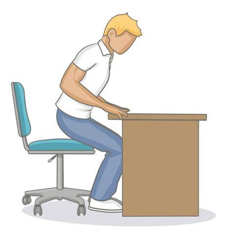 bonne position au bureau adopter une bonne position assise au bureau mal de dos