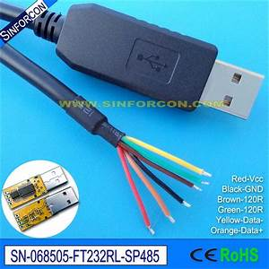 Aliexpress Com   Buy Win8 Win10 Android Mac Ftdi Ft232rl Usb Rs485 Adapter Cable Compatible Usb