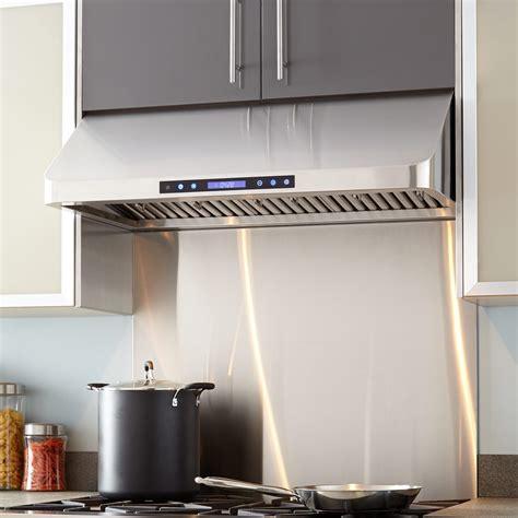 kitchen island exhaust fan 30 quot holt series stainless steel under range hood