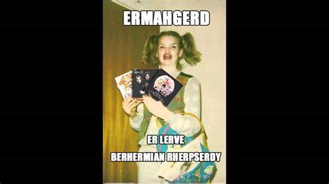 Ermahgerd Know Your Meme - ermahgerd template www imgkid com the image kid has it