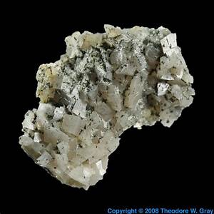 Dolomite  A Sample Of The Element Calcium In The Periodic