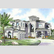 Luxury Mediterranean House Plan  32058aa Architectural