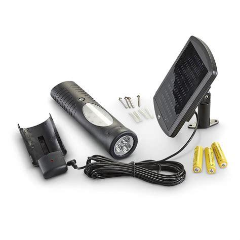 13 led solar shed light 223542 flashlights at