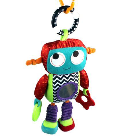 Buy 26cm Baby Toy 0m Soft Plush Robot