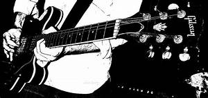 Gibson Guitar Graphic Photograph by Chris Berry