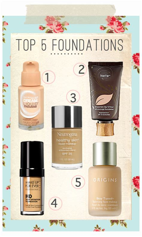 best drugstore light coverage foundation my top foundation picks miss louie