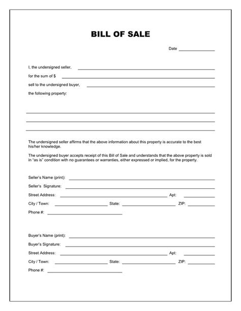 legal forms for lawyers free printable rv bill of sale form form generic