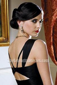 Eva Green Größe : eva green schwarz ruffle formal abendkleid casino royale ~ Watch28wear.com Haus und Dekorationen