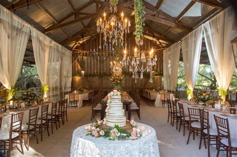 reception decor  rustic elegant barn wedding