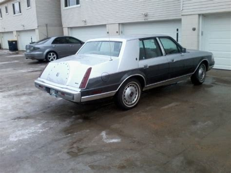 1987 Lincoln Continental | Minnesota. Rain-rinsed but ...