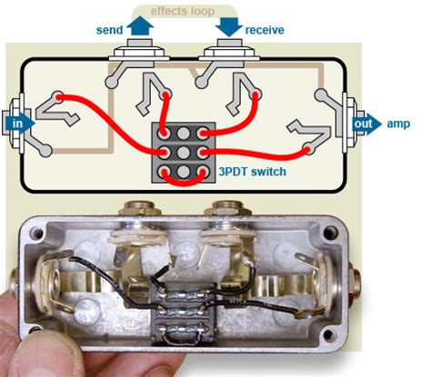 Ab Pedal Diagram by Build This Bypass Pedal To Turn Your Stompboxes