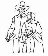 Coloring Thanksgiving Pilgrim Nimbus Colornimbus sketch template