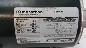 Marathon 1 3 Hp Motor Wiring Diagram