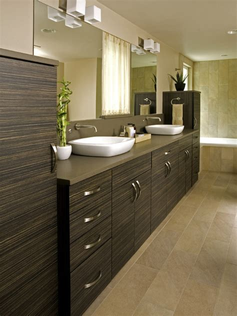 Modern Master Bathroom Vanities shoreline modern master bath modern bathroom other