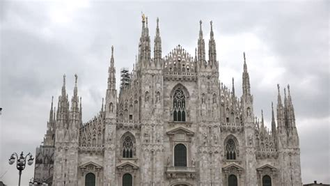 Milan Duomo Square Cathedral Church Italy Milano Famous