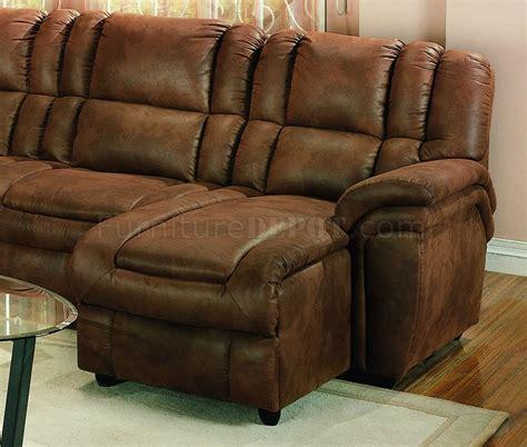microfiber sectional recliner sofa brown specially treated microfiber sectional sofa w recliner