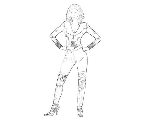 Coloring Pages Black Widow by Black Widow Coloring Pages