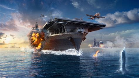 World Of Warships Game Wallpapers  Hd Wallpapers  Id #16821