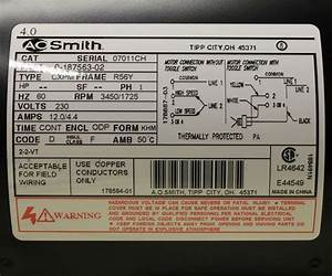Ao Smith Motor Wiring Diagram
