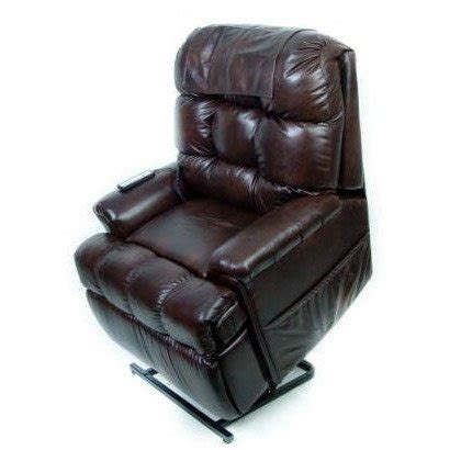 leather lift chair deluxe options package