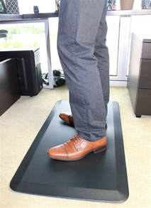 tapis pour bureau debout anti fatigue mat office de