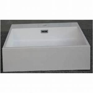 Mineralguss Waschbecken Reinigen : mineralguss aufsatz waschbecken eckig 500x420x100 mm 99 00 ~ Lizthompson.info Haus und Dekorationen