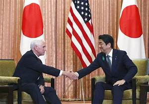 Pence visits Japan, turning focus to trade with key ally