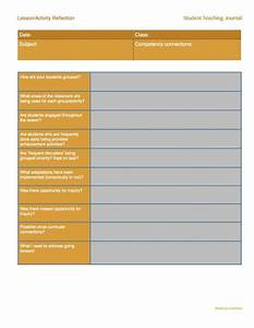 student teacher teaching and student on pinterest With teacher diary template