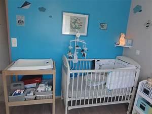 Deco Chambre Garcon Bleu Et Gris