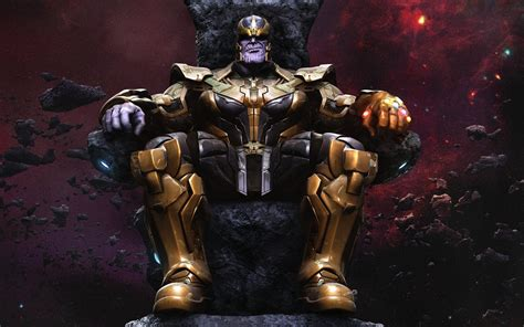 Thanos Wallpaper Hd