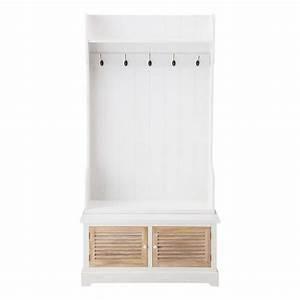 Meuble Entrée Maison Du Monde : ouessant meuble d 39 entr e maisons du monde decofinder ~ Teatrodelosmanantiales.com Idées de Décoration