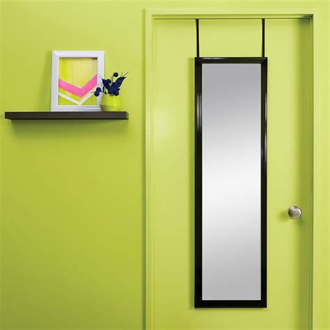 over the door mirror with lights bring home functional style with an over the door mirror