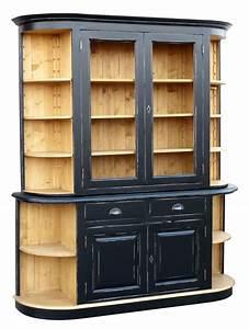 Vaisselier En Pin : bahut vaisselier en pin massif ~ Teatrodelosmanantiales.com Idées de Décoration