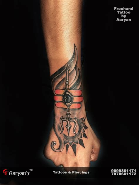 har har mahadev  hand tattoo  aaryan tattooist