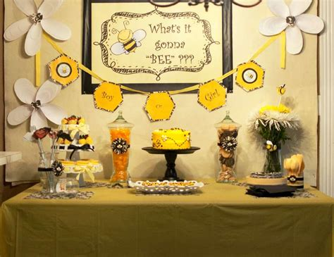 baby shower bee theme bee gender reveal quot what will it bee quot catch my party