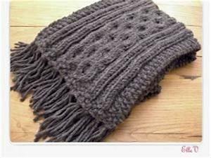 Echarpe Homme Tricot : tuto tricot echarpe femme ~ Melissatoandfro.com Idées de Décoration