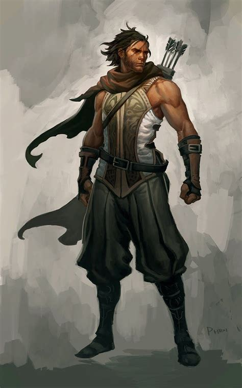 concept ranger ranger rpg character pictures pinterest bow arrows