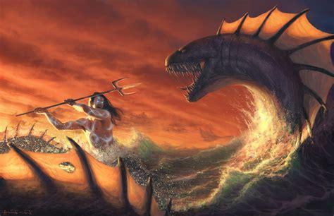 artwork, Leviathan, Fantasy Art Wallpapers HD / Desktop ...