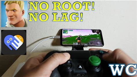fortnite mobile  ps controller android gameplay