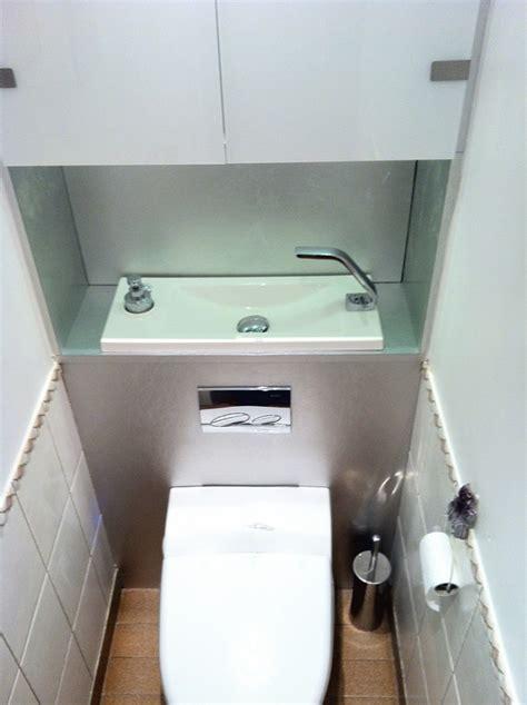Wc Lave Intégré Compact Toilet Basin Sinks Bathroom Narrow Bathroom Toilet