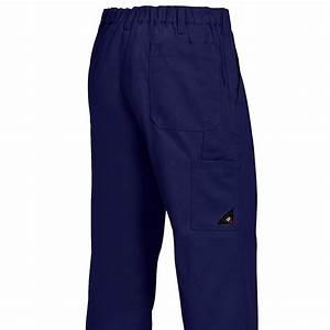 Pantalon Bleu Marine Homme : pantalon travail homme garanti grand teint 100 coton ~ Melissatoandfro.com Idées de Décoration
