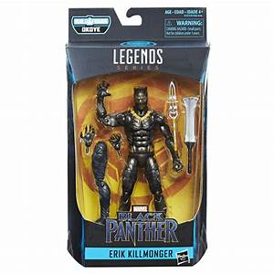 Killmonger Nakia And Okoye Marvel Legends Black Panther
