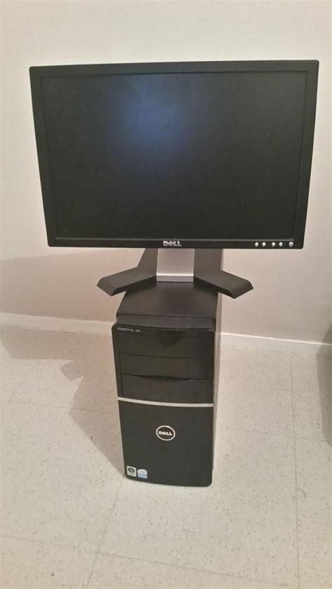 pc bureau complet troc echange pc bureau dell complet avec écran plat sur