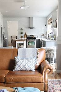 February House Fluffing {Leather, Copper & Wood} - The